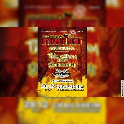 10. Crailsheimer Dynamite Night - Pink Cream 69, Stormwitch, Motojesus, Razzmattazz, and one more …