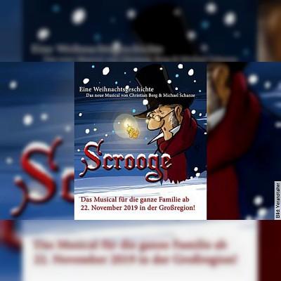 Scrooge - eine Weihnachtsgeschichte - Das neue Weihnachtsmusical für die ganze Familie