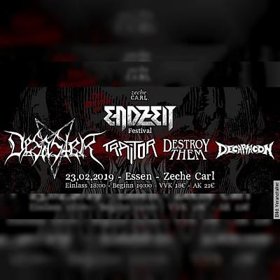 ENDZEIT FESTIVAL - Desaster, Traitor, Destroy Them, Decaptacon