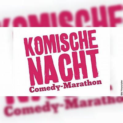 DIE KOMISCHE NACHT 2019 - Der Comedy-Marathon in Goslar