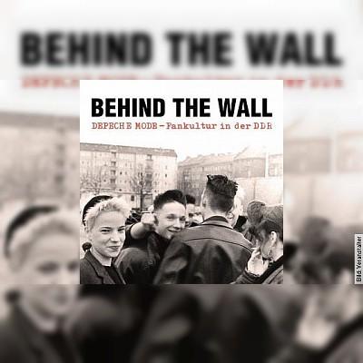 BEHIND THE WALL: DEPECHE MODE-FANKULTUR IN DER DDR - Lesung mit Sascha Lange