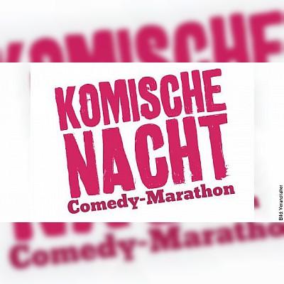 DIE KOMISCHE NACHT 2019 - Der Comedy-Marathon in Krefeld