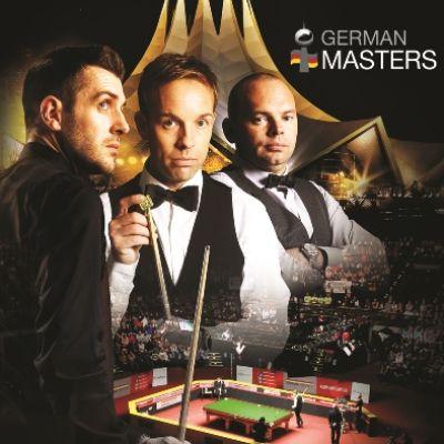 Snooker: German Masters 2020 - Tagesticket Samstag