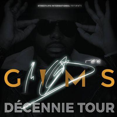 Gims - Décennie Tour 2020