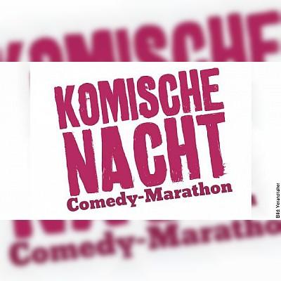DIE KOMISCHE NACHT 2019 - Der Comedy-Marathon in Frankfurt