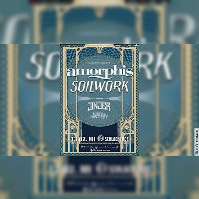 AMORPHIS und SOILWORK - Supports: Jinjer und Nailed To Obscurity