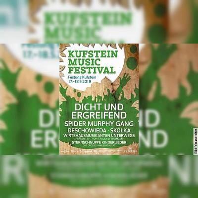 Kufstein Music Festival - Tagesticket Samstag