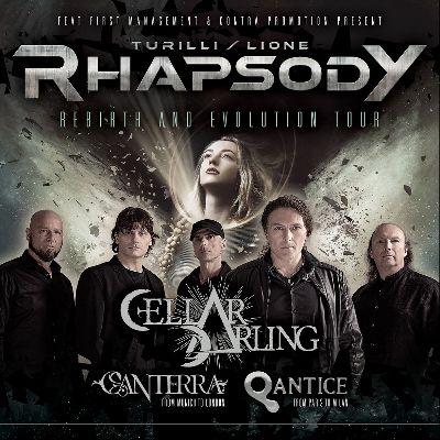 Turilli / Lione Rhapsody - Rebirth and Evolution Tour 2020