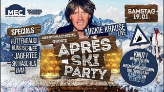 Apres Ski Party präsentiert von: MEC Millenium Event Center & Wolters Pilsener