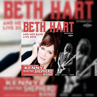 BETH HART - with special guest: Kenny Wayne Shepherd