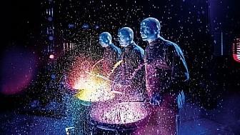 BLUE MAN GROUP mit Originalprogramm auf Welttour