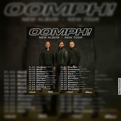 OOMPH! - und NERVENBEISSER / European Tour 2019