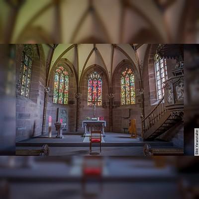 Marienkapelle und Bibliothekssaal im Kloster Hirsau