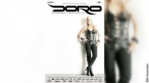 DORO - EUROPEAN TOUR 2018