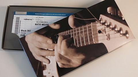 Geschenkkarton - Motiv: E-Gitarre