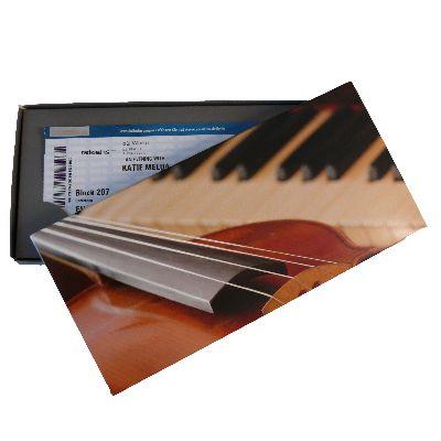 Geschenkkarton - Motiv: Geige