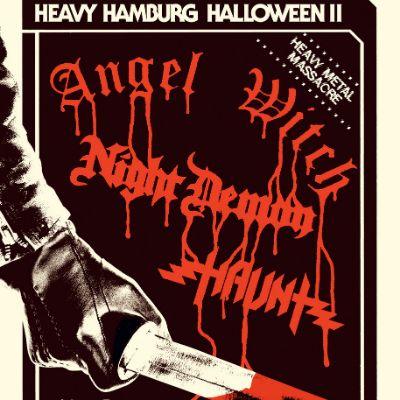 Heavy Hamburg Halloween - Angel Witch, Night Demon, Haunt
