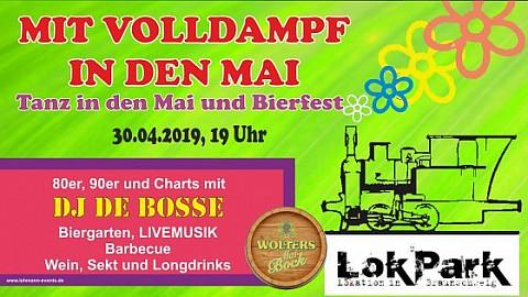 MIT VOLLDAMPF IN DEN MAI präsentiert von Lohmann-Events