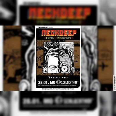 NECK DEEP - The Peace And The Panic Tour 2