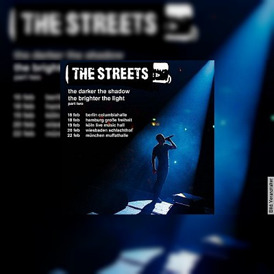 THE STREETS - the darker the shadow the brighter the light