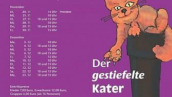 """Weihnachtsmärchen """"Der gestiefelte Kater"""" Premiere"""